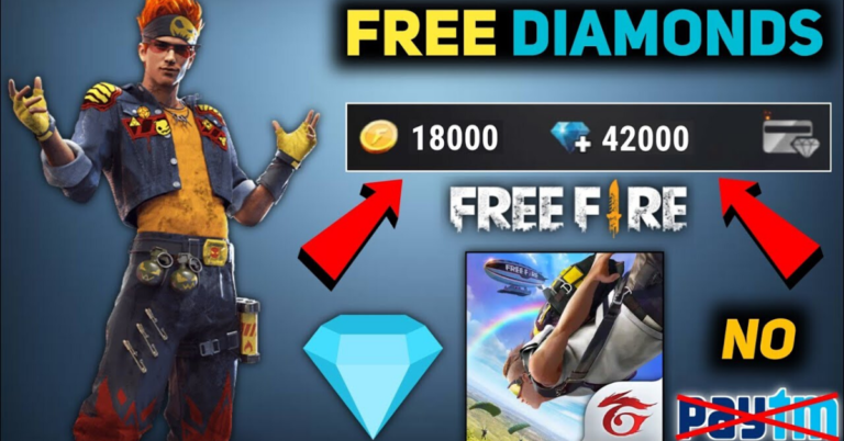 How to Get Free Fire Unlimited Diamond 99999 [No PAYTM]