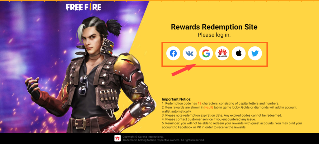 Free Fire Redeem Code Today 27 April 2021