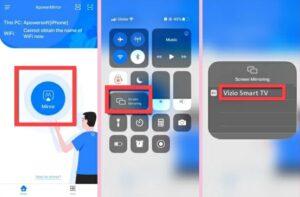 connect iphone to vizio smart tv