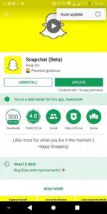 snapchat stuck on loading