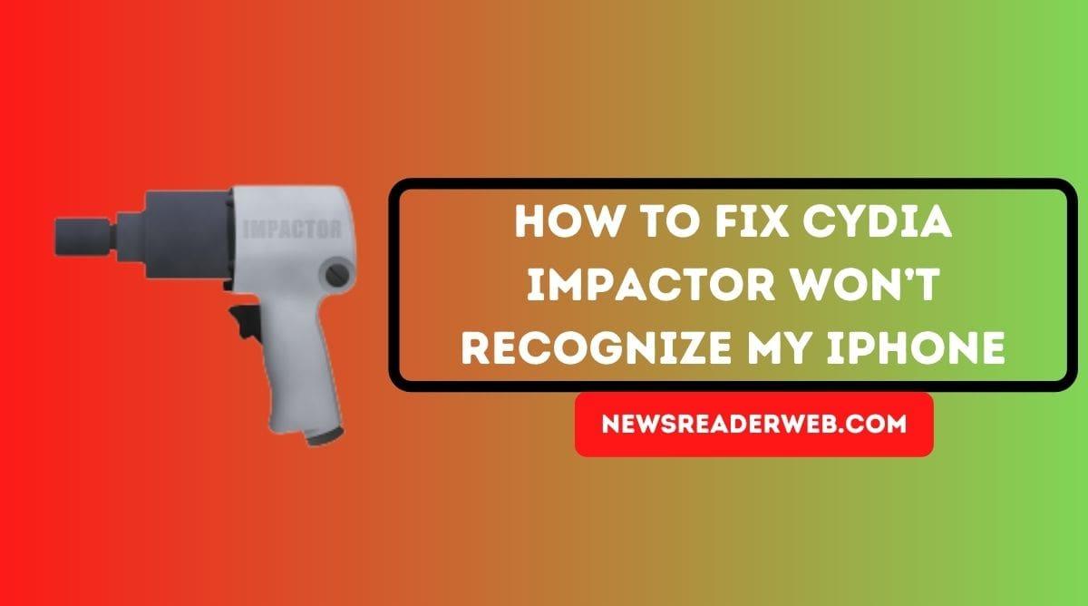 Cydia Impactor won't Recognize my iPhone-min