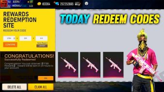 Free fire redeem codes today 14 June 2021
