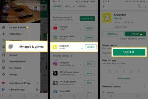 Update Snapchat app