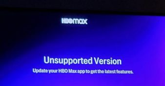 HBO Max Unsupported Version Samsung TV