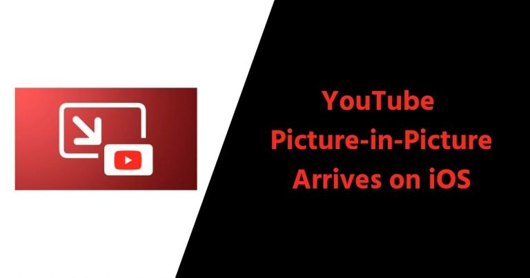 YouTube Picture-in-Picture Arrives on iOS