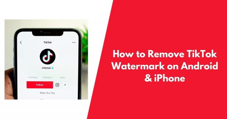 How to Remove TikTok Watermark on Android & iPhone