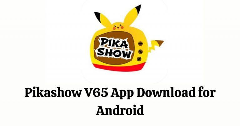 Pikashow v65 MOD APK Download