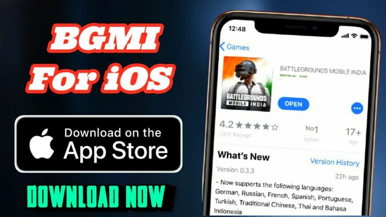 Download Battlegrounds Mobile India for iOS User, BGMI for iOS