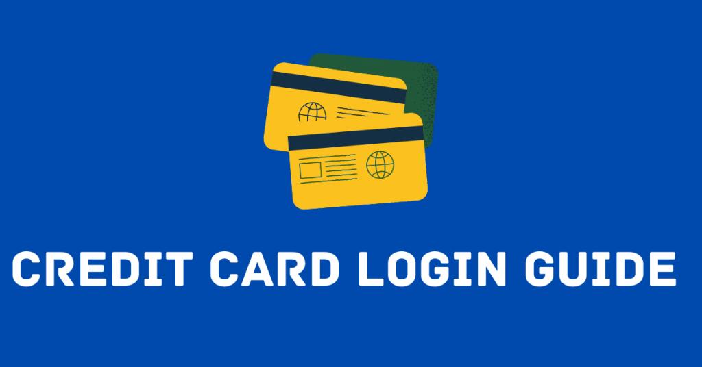 Credit Card Login Guide