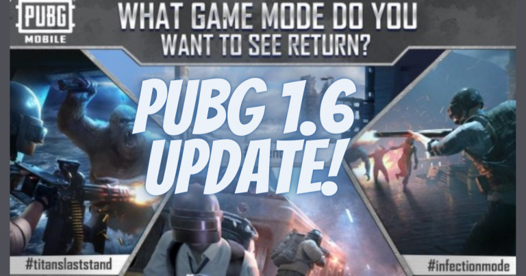 PUBG Mobile 1.6 Update APK Download Link for Android 2021