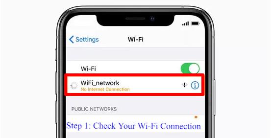Safari can't connect to server iPad