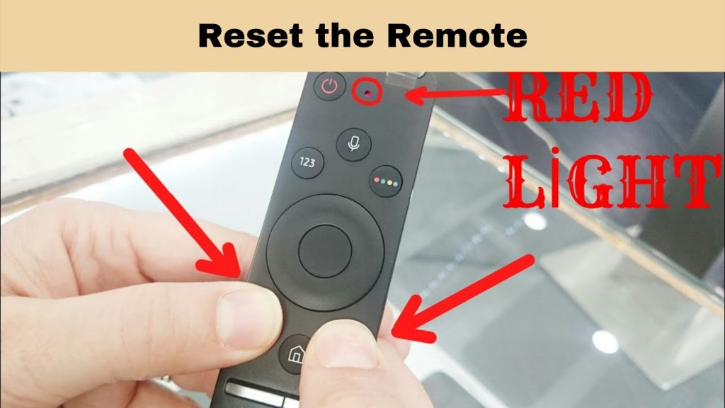 hisense tv remote not working red light