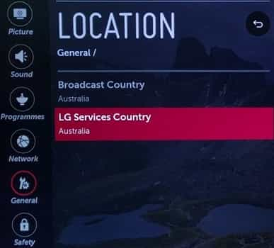 LG content store missing